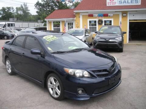 2013 Toyota Corolla for sale at One Stop Auto Sales in North Attleboro MA