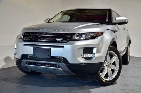 2012 Land Rover Range Rover Evoque Coupe for sale at Carxoom in Marietta GA