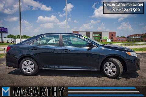 2013 Toyota Camry for sale at Mr. KC Cars - McCarthy Hyundai in Blue Springs MO