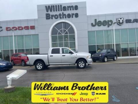 2018 RAM Ram Pickup 1500 for sale at Williams Brothers - Pre-Owned Monroe in Monroe MI