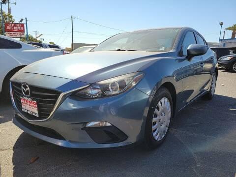 2014 Mazda MAZDA3 for sale at Primo Auto Sales in Merced CA