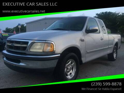 1998 Ford F-150 for sale at EXECUTIVE CAR SALES LLC in North Fort Myers FL