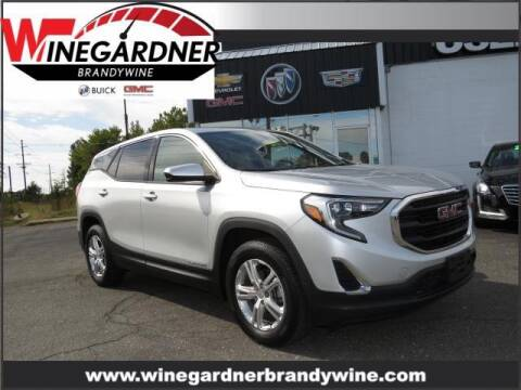2018 GMC Terrain for sale at Winegardner Auto Sales in Prince Frederick MD