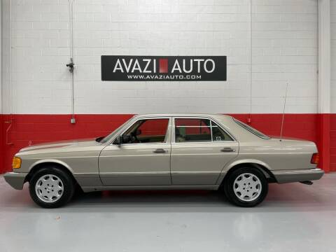 1991 Mercedes-Benz 300-Class for sale at AVAZI AUTO GROUP LLC in Gaithersburg MD
