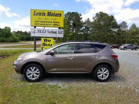 2012 Nissan Murano for sale at Lewis Motors LLC in Deridder LA
