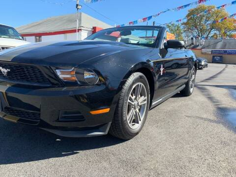 2012 Ford Mustang for sale at PELHAM USED CARS & AUTOMOTIVE CENTER in Bronx NY
