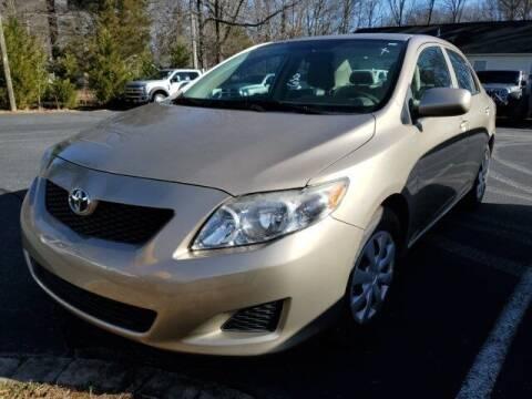 2009 Toyota Corolla for sale at Impex Auto Sales in Greensboro NC