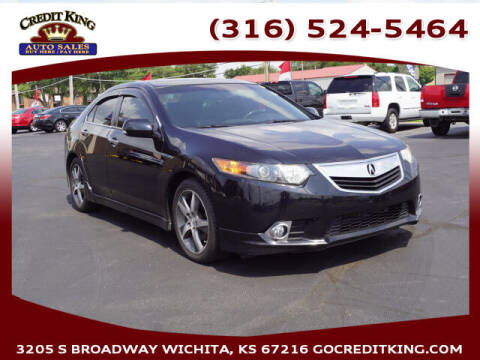 2012 Acura TSX for sale at Credit King Auto Sales in Wichita KS