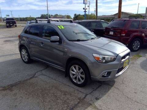 2012 Mitsubishi Outlander Sport for sale at Regency Motors Inc in Davenport IA