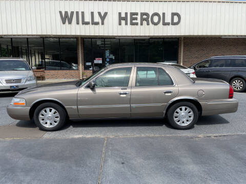 2005 Mercury Grand Marquis for sale at Willy Herold Automotive in Columbus GA