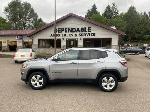 2018 Jeep Compass for sale at Dependable Auto Sales and Service in Binghamton NY