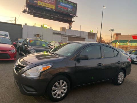 2015 Nissan Versa for sale at Sanaa Auto Sales LLC in Denver CO