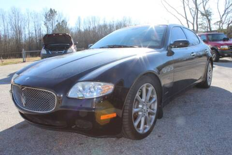 2008 Maserati Quattroporte for sale at UpCountry Motors in Taylors SC