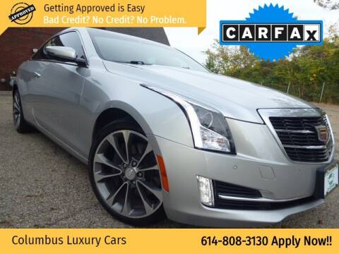 2016 Cadillac ATS for sale at Columbus Luxury Cars in Columbus OH