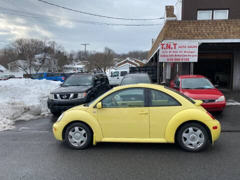 2001 Volkswagen New Beetle for sale at TNT Auto Sales in Bangor PA