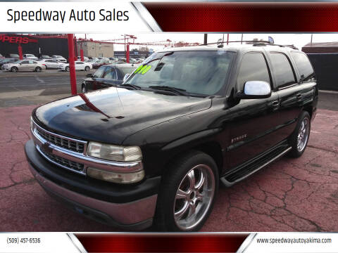 2003 Chevrolet Tahoe for sale at Speedway Auto Sales in Yakima WA