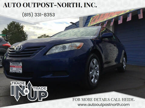 2007 Toyota Camry for sale at Auto Outpost-North, Inc. in McHenry IL