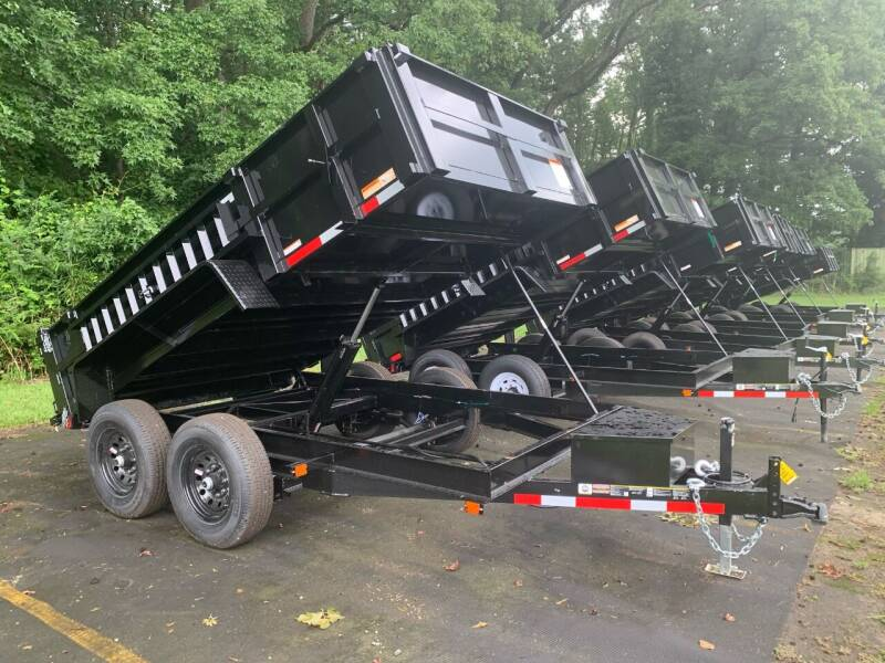 2021 New Carry-On Dump Trailer 7x12 LP HS 12K for sale at Tripp Auto & Cycle Sales Inc in Grimesland NC