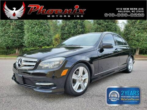 2011 Mercedes-Benz C-Class for sale at Phoenix Motors Inc in Raleigh NC