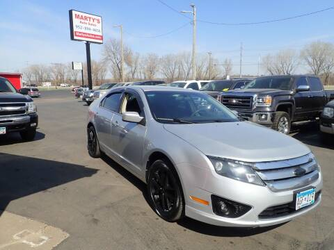 2012 Ford Fusion for sale at Marty's Auto Sales in Savage MN