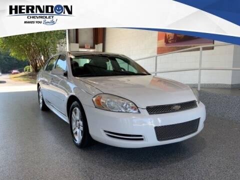 2012 Chevrolet Impala for sale at Herndon Chevrolet in Lexington SC
