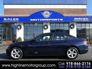 2015 BMW 3 Series for sale at Highline Group Motorsports in Lowell MA