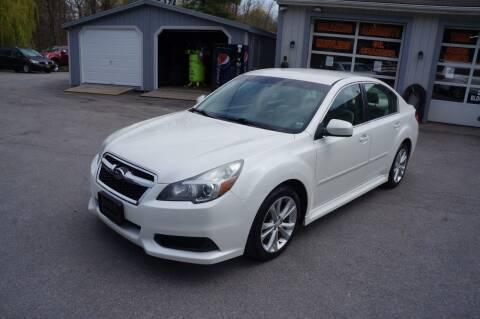 2013 Subaru Legacy for sale at Autos By Joseph Inc in Highland NY