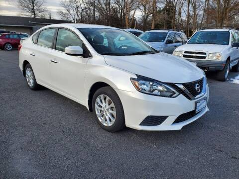 2017 Nissan Sentra for sale at AFFORDABLE IMPORTS in New Hampton NY