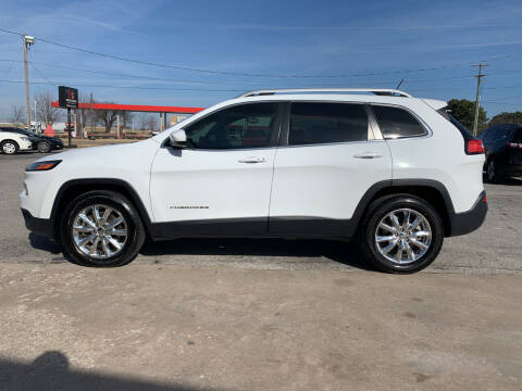 2015 Jeep Cherokee for sale at Smooth Solutions 2 LLC in Springdale AR