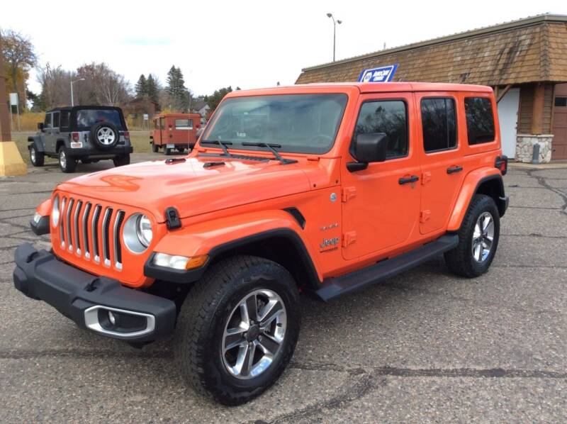 2019 Jeep Wrangler Unlimited for sale at MOTORS N MORE in Brainerd MN