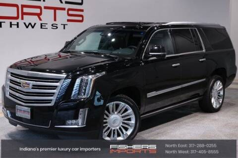 2019 Cadillac Escalade ESV for sale at Fishers Imports in Fishers IN
