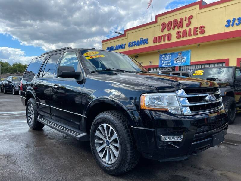 2017 Ford Expedition for sale at Popas Auto Sales in Detroit MI