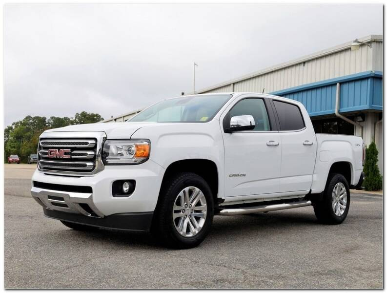 2018 GMC Canyon for sale at STRICKLAND AUTO GROUP INC in Ahoskie NC