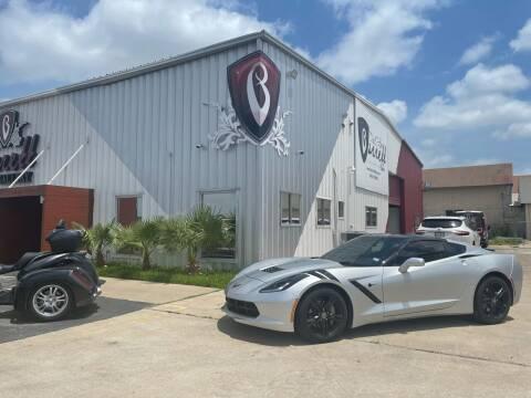2016 Chevrolet Corvette for sale at Barrett Auto Gallery in San Juan TX