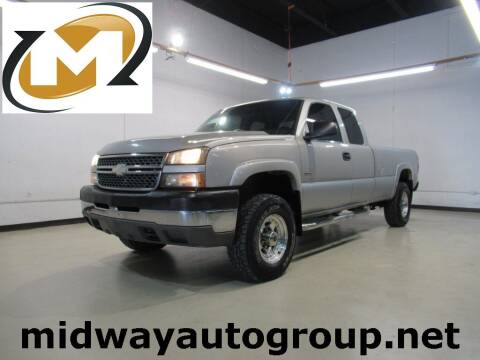 2005 Chevrolet Silverado 2500HD for sale at Midway Auto Group in Addison TX