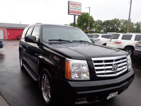 2006 Cadillac Escalade for sale at Marty's Auto Sales in Savage MN