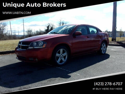 2008 Dodge Avenger for sale at Unique Auto Brokers in Kingsport TN