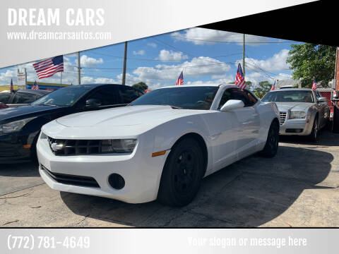 2012 Chevrolet Camaro for sale at DREAM CARS in Stuart FL