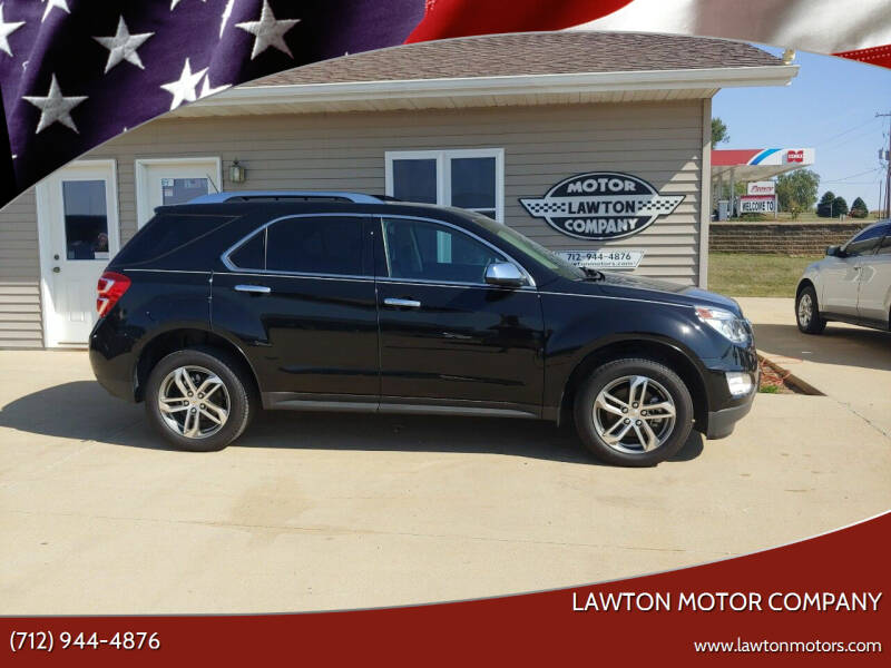 2017 Chevrolet Equinox for sale at Lawton Motor Company in Lawton IA