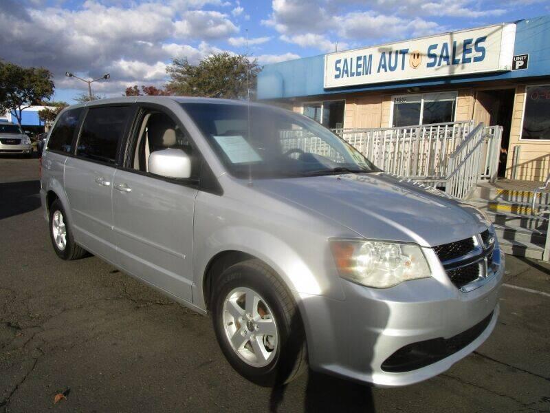 2012 Dodge Grand Caravan for sale at Salem Auto Sales in Sacramento CA