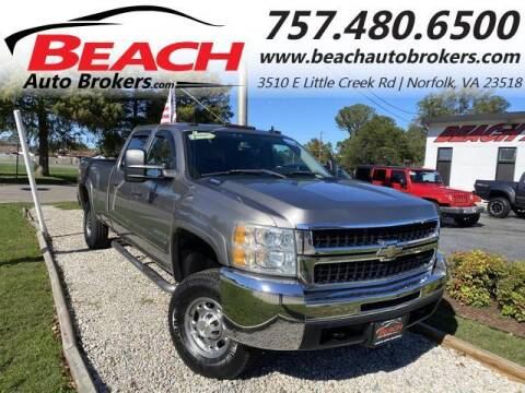 2007 Chevrolet Silverado 2500HD for sale at Beach Auto Brokers in Norfolk VA