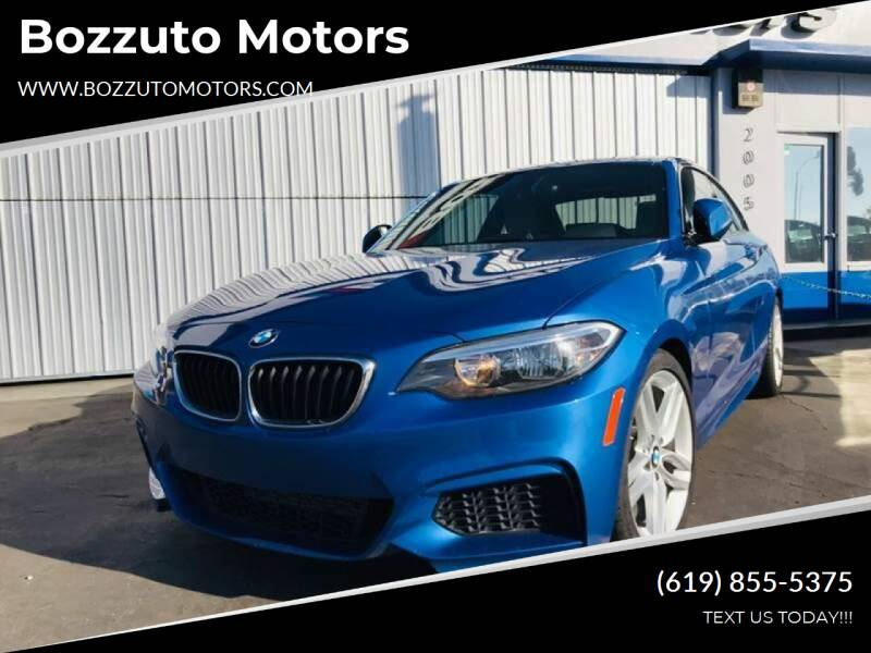 2015 BMW 2 Series for sale at Bozzuto Motors in San Diego CA