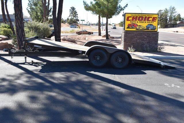 2021 FOX 7x20 FT Tilt 10k GVW for sale at Choice Auto & Truck Sales in Payson AZ