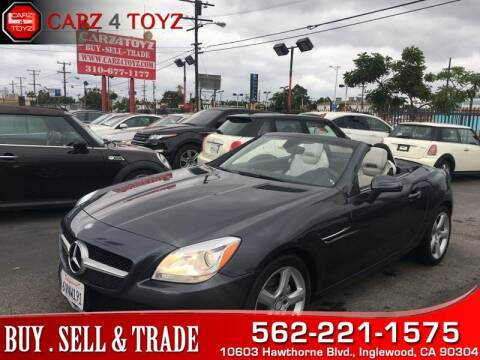 2012 Mercedes-Benz SLK for sale at Carz 4 Toyz in Inglewood CA