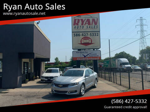 2018 Chevrolet Impala for sale at Ryan Auto Sales in Warren MI