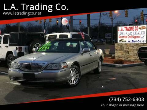 2003 Lincoln Town Car for sale at L.A. Trading Co. in Woodhaven MI