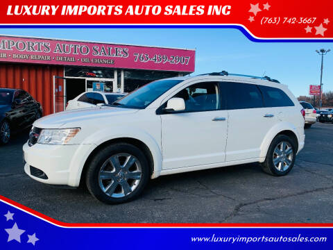 2010 Dodge Journey for sale at LUXURY IMPORTS AUTO SALES INC in North Branch MN