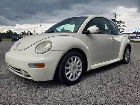 2004 Volkswagen New Beetle for sale at Real Deals of Florence, LLC in Effingham SC