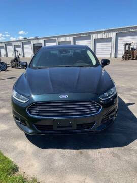 2014 Ford Fusion for sale at Atlas Automotive Sales in Hayden ID