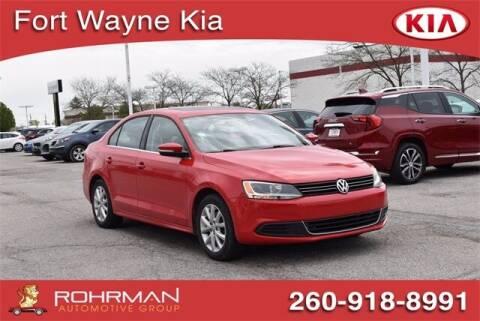 2014 Volkswagen Jetta for sale at BOB ROHRMAN FORT WAYNE TOYOTA in Fort Wayne IN